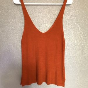 Copper Knitted Tank